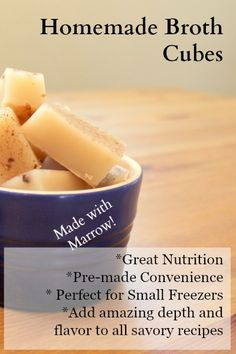 Always have broth on hand with Easy Homemade Broth Gelatin Cubes in your freezer | Health, Home, & Happiness (tm)