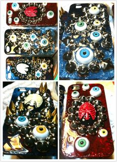 Handmade IPHONE cases! Iphone Cases, Handmade, Diy, Hand Made, Bricolage, Craft, I Phone Cases, Do It Yourself, Fai Da Te