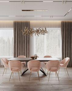 Enhance Your Senses With Luxury Home Decor Home Room Design, Dining Room Design, Interior Design Living Room, House Design, Table Design, Luxury Interior Design, Elegant Dining Room, Luxury Dining Room, Home Living Room