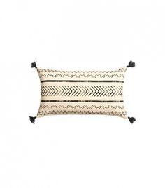 H&M Tasseled Cushion Cover