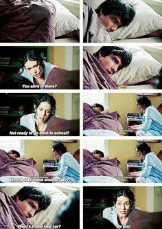 Discovered by The Hunger Games. Find images and videos about bed, teen wolf and car on We Heart It - the app to get lost in what you love. Teen Wolf 4, Teen Wolf Quotes, Teen Wolf Funny, Teen Wolf Memes, Teen Wolf Dylan, Teen Wolf Cast, Dylan O'brien, Scott Mccall, Melissa Mccall