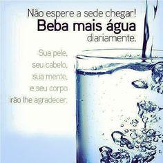 Água faz a diferença!
