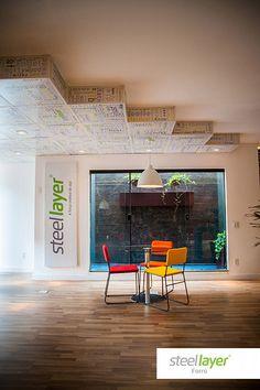 #steellayer #decor #decoracao #aco #aço #forro #versatilidade #estampa #print #inovacao #sofisticacao #design #arquitetura #architecture #home #room #livingroom #alltype