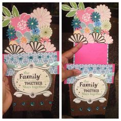 Diy Mother's Day card made by me