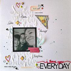 my scrap corner: I love you everyday - TTT #4
