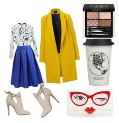 """""""Busy Monday"""" by jarmtum on Polyvore featuring Jimmy Choo, Kate Spade, Natural Life, Gucci, women's clothing, women, female, woman, misses and juniors"""