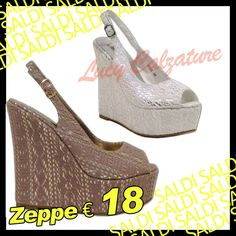 #SALDI #zeppe #style #women #lucycalzature #montecatiniterme