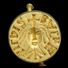 The Baldehildis seal ring  England, probably late 7th century AD Found near Norwich, Norfolk, England, in 1998