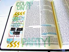 Bible Journaling : Count On It! | Bonita Rose