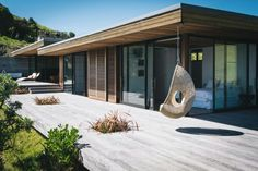 29 Lovely Contemporary House With Amazing Wood Construction And Details. 30 modern contemporary house with amazing wood construction and details by ellen w. Ruff posted on november 11 2018 may Modern Contemporary Homes, Contemporary Architecture, Architecture Design, Amazing Architecture, Pergola, Modern House Plans, Modern Houses, Wood Construction, Building A House