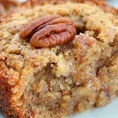 Pecan Pie Muffins -- made these the day I pinned this! They are so good! I was bad and ate three right out of the oven!