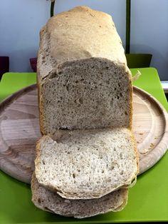 Vnútro kváskového chleba z pekárničky