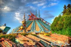 Disney paris  2015 | Disneyland Paris : Space Mountain et Vidéopolis fermés en 2015