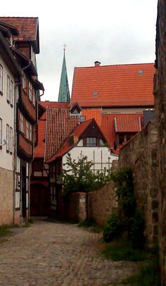 Jüdengasse in Quedlinburg
