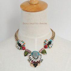 #fashion #style #necklace #trendy | @braccialettoamore