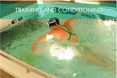Read about the benefits of training & conditioning with hydrotherapy.