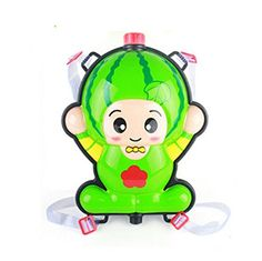 Remeehi Summer Toys for Kids Cute Fruit Style Water Guns Backpack Toy Watermelon >>> You can find more details by visiting the image link.Note:It is affiliate link to Amazon.