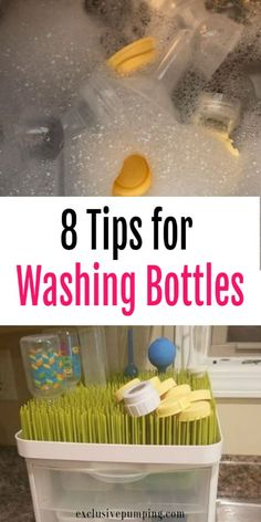 Not sure what the easiest way is to wash all of your baby's bottles? Here are 8 tips for washing baby bottles and breast pump parts! baby breastfeeding baby infants baby quotes baby tips baby toddlers Washing Baby Bottles, Cleaning Bottles Baby, Bottle Feeding Breastmilk, Lava, Bottle Cleaner, Breastfeeding And Pumping, Baby Led Weaning, Baby Quotes, Pumps