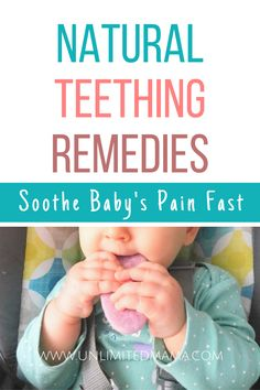 Baby teething remedies to soothe your baby. I'll share the best teething toys and home remedies that help my teething baby and will help yours too. Baby Teething Symptoms, Teething Signs, Best Teething Toys, Baby Teething Remedies, Teething Gel, Natural Teething Remedies, Natural Remedies, Teething Relief, Baby Teething Biscuits