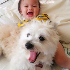 Finally, these two who pretty much sum up how it feels to have a dog best friend. | 27 Kids Who Look Like Their Doggy BFFs