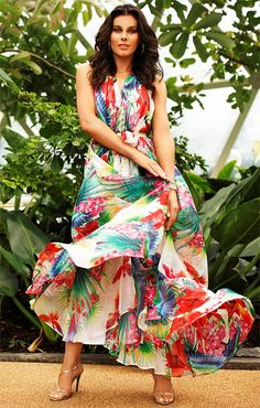 Tropical Mother Of The Groom Dresses