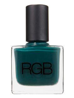 Prettiest green polish...RGB in Tropic
