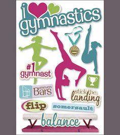Joann Fabrics, gymnastics page