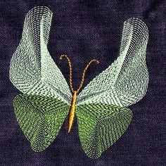 Free Embroidery Design:  Butterfly