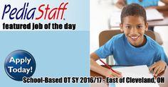 Hot Job: School-Based OT – East of Cleveland, OH