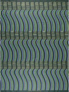 African Wax Block Print Fabric Via Vlisco