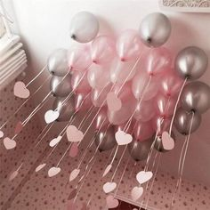 Solid color balloon set kids birthday party ideas birthday first birthday girl party boy party baby shower ideas party decor balloons 9 easy diy ideas for your next outdoor party Babyshower Party, Baby Party, Baby Shower Parties, Baby Shower Themes, Shower Ideas, Party Box, Baby Shower Balloon Ideas, Diy Birthday, First Birthday Parties