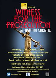 Image result for agatha christie witness for the prosecution