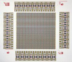 Sam Lucente. Diagram of Logic Chip. 1986