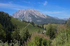 #Wandern in #Bayern - Blick auf den Watzmann im Berchtesgadener Land
