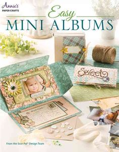 From the creators of Scor-Pal(R) scoring boards, Easy Mini Albums will provide…