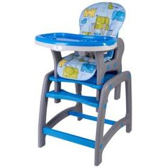 Scaun de masa multifunctional albastru Kidscare Multifunctional, Furniture, Home Decor, Cots, Decoration Home, Room Decor, Home Furnishings, Home Interior Design, Home Decoration
