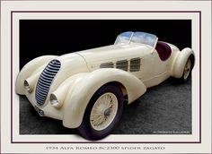 1934 Alfa Romeo 8C2300 Spider Zagato