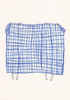 the return of the blue blanket by kaye blegvad, via Flickr
