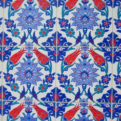 Turkish tile. Pattern