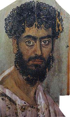 Фаюмские портреты - Артефакты, диковинки, интересности...
