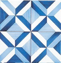 Tiles designed by Gio Ponti in 1960 for the Parco dei Principi Hotel, Sorrento Gio Ponti, Painting Patterns, Tile Patterns, Floor Design, Tile Design, Sorrento, Johnson Tiles, Barn Quilt Designs, Ceramic Mosaic Tile