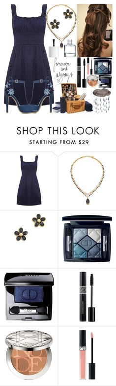 """""""It Started To Rain"""" by dev-lynn ❤ liked on Polyvore featuring ELIZABETH HURLEY beach, Chan Luu, ShoeDazzle, Marc by Marc Jacobs, Christian Dior and Picnic Time"""