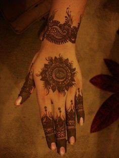 This would be cool too, but on the palm instead.