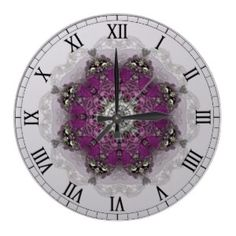 http://www.zazzle.com/regal_shades_kaleidoscope_clock-256700729625409349?rf=238739306683447883  Regal Shades Kaleidoscope Clock