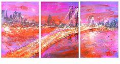 "Saatchi Art Artist: Anastasia Kachina; Oil 2013 Painting ""New York"""