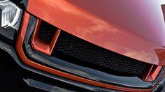 Kahns Front Bumper Centre Section Graphic- Mat Black $659.00
