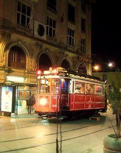 Tram - Near Tunel, Istanbul, Turkey
