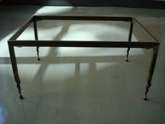 Flame Leg W/Ball Coffee Table by surthrival on Etsy, $500.00
