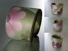 Cuff Bracelet Flower Power | Flickr - Photo Sharing!