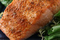 Old Bay-Seasoned Salmon Caesar Salad